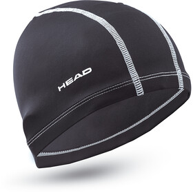 Head Nylon Spandex Cap black